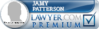 Jamy Patterson  Lawyer Badge