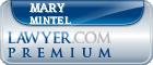 Mary E. Mintel  Lawyer Badge