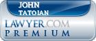 John A. Tatoian  Lawyer Badge