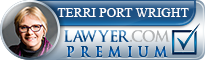 Terri Ann Port Wright  Lawyer Badge