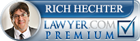 Rich Hechter  Lawyer Badge