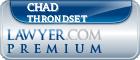 Chad Andrew Throndset  Lawyer Badge