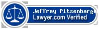 Jeffrey J Pitsenbarger  Lawyer Badge