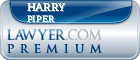 Harry Piper  Lawyer Badge