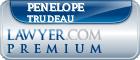 Penelope Trudeau  Lawyer Badge