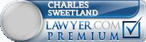 Charles Sweetland  Lawyer Badge