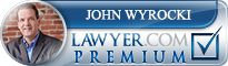 John T. Wyrocki  Lawyer Badge