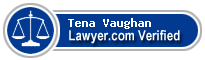 Tena E. Vaughan  Lawyer Badge