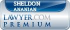 Sheldon Seth Ananian  Lawyer Badge
