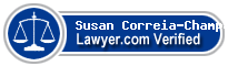 Susan Correia-Champa  Lawyer Badge