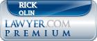 Rick Olin  Lawyer Badge