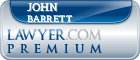 John T. Barrett  Lawyer Badge