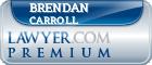 Brendan Carroll  Lawyer Badge