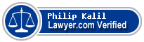 Philip M. Kalil  Lawyer Badge