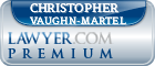 Christopher W. Vaughn-Martel  Lawyer Badge
