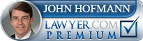 John G. Hofmann  Lawyer Badge