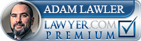 Adam Barrett Lawler  Lawyer Badge