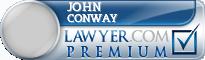 John Conway  Lawyer Badge