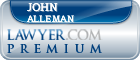 John D. Alleman  Lawyer Badge