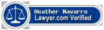 Heather Brouillet Navarro  Lawyer Badge