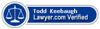 Todd M. Keebaugh  Lawyer Badge