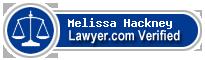 Melissa Mckee Hackney  Lawyer Badge