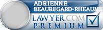 Adrienne Catherine Beauregard-Rheaume  Lawyer Badge