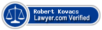 Robert William Kovacs  Lawyer Badge