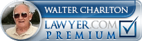 Walter Charlton  Lawyer Badge