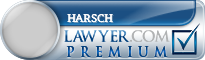 William Harsch  Lawyer Badge