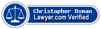 Christopher Blane Osman  Lawyer Badge