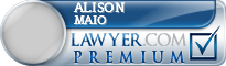 Alison L. Booth Maio  Lawyer Badge