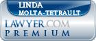 Linda A. Molta-Tetrault  Lawyer Badge