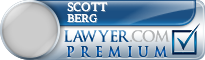Scott M. Berg  Lawyer Badge