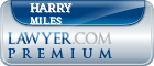 Harry L. Miles  Lawyer Badge