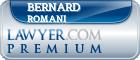 Bernard J. Romani  Lawyer Badge
