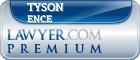 Tyson R. Ence  Lawyer Badge