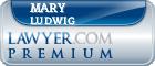 Mary Ludwig  Lawyer Badge