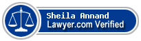 Sheila J. Annand  Lawyer Badge