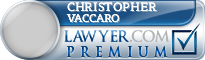 Christopher R. Vaccaro  Lawyer Badge