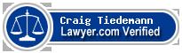 Craig J. Tiedemann  Lawyer Badge