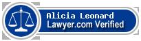 Alicia Oliver Leonard  Lawyer Badge