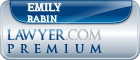 Emily B. Rabin  Lawyer Badge