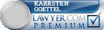 Karrsten Goettel  Lawyer Badge