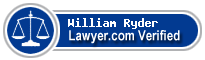 William Michael Ryder  Lawyer Badge