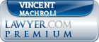 Vincent C. Machroli  Lawyer Badge