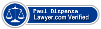 Paul Charles Dispensa  Lawyer Badge