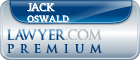 Jack Thomas Oswald  Lawyer Badge