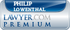 Philip Henry Lowenthal  Lawyer Badge