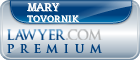 Mary Weaver Tovornik  Lawyer Badge